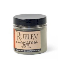 Пигмент RUBLEV  421-2710  Antica Green Earth