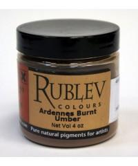 460-4510 RUBLEV Пигмент Ardennes  Burnt Umber 100 г