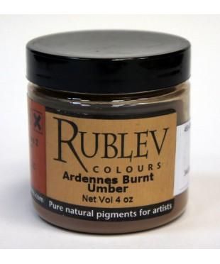 Пигмент RUBLEV 460-4510  Ardennes  Burnt Umber 100 г