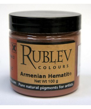 453-1010 RUBLEV Пигмент Armenian Hematite 100 г
