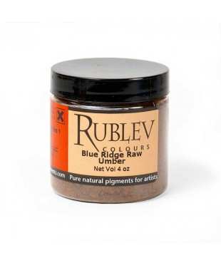 460-7110 RUBLEV Пигмент Blue Ridge Raw Umber 100 г.