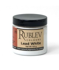 475-1510 RUBLEV Пигмент Lead White, 100 г
