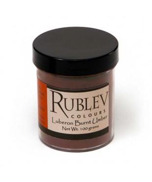 Пигмент RUBLEV 460-4410  Luberon Burnt Umber 100 г.