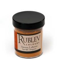 460-3210 RUBLEV Пигмент Luberon Raw Sienna 100 г