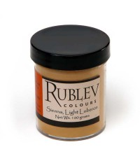 Пигмент RUBLEV 460-3310  Luberon Raw Sienna Light 100 г