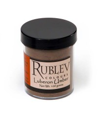 460-4210 RUBLEV Пигмент Luberon Raw Umber 100 г