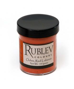 Пигмент RUBLEV  450-5210  Luberon Red Ocher RFLES
