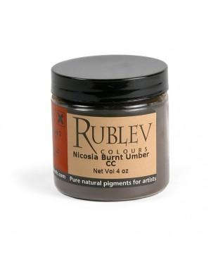 Пигмент RUBLEV 461-6510 Nicosia Burnt Umber CC