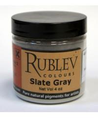 482-1110 RUBLEV Пигмент Slate Grey 100 г.