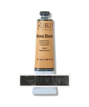 820-903 Краска маслянная Bone Black 50 мл. РУБЛЕВ