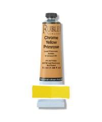 Краска масляная РУБЛЕВ 820-310  Chrome Yellow Primose 50 мл.