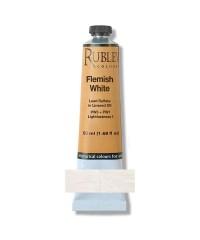 820-811 Краска маслянная Flemish White 50 мл. РУБЛЕВ