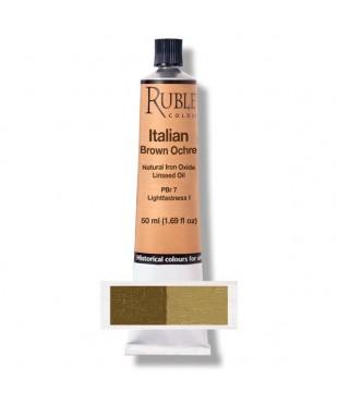 820-622 Краска маслянная Italian Brown Ocher  50 мл. РУБЛЕВ