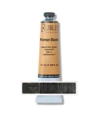 820-906 Краска маслянная Roman Black 50 мл. РУБЛЕВ