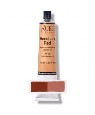 Краска масляная РУБЛЕВ  820-504 Venetian Red 50 мл.