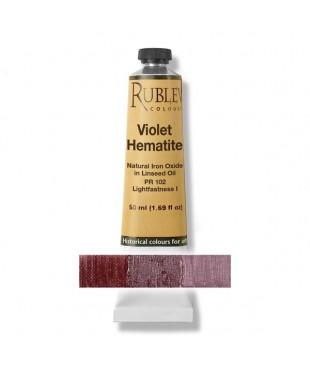820-701 Краска маслянная Violet Hematite 50 мл. РУБЛЕВ