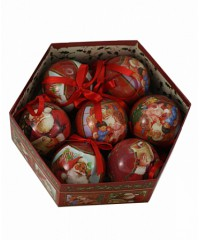 299-75950S-7K Набор новогодние шары 7 шт