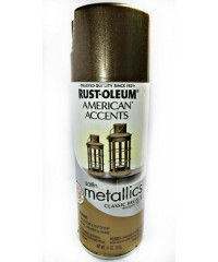 Краска с эффектом состаренного металла 202642  цвет classic bronze metallic, 312г аэрозоль