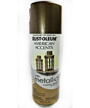 202642 Краска с эффектом состаренного металла, цвет classic bronze metallic, 312г аэрозоль