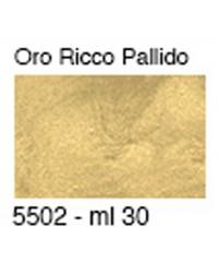Паста для золочения металлик, цвет ORO RICCO PALLIDO, 30 мл, 5502