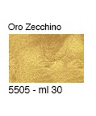 Паста для золочения металлик, 5505 цвет ORO ZECCNINO, 30 мл